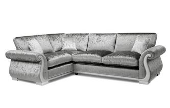 Formal Back Right Hand Facing Arm 3 Seater Corner