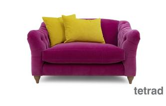 Snuggler Sofa Classic Velvet