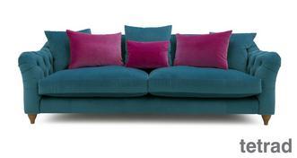 Raffles 4 Seater Sofa