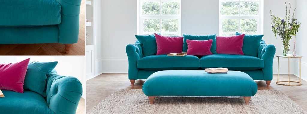 Raffles Grand Sofa Classic Velvet   DFS