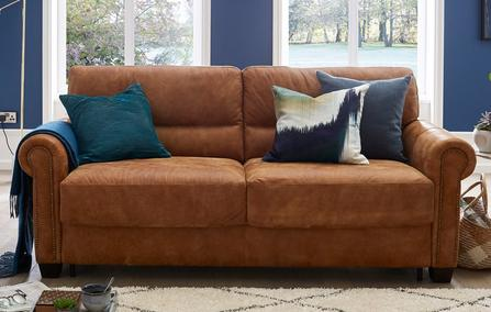 Leather Sofa Beds That Combine Quality Value Ireland Dfs Ireland