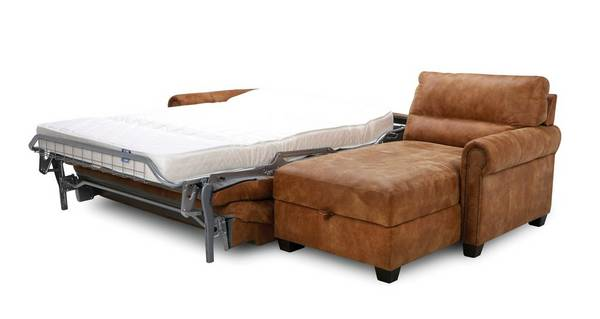 Ramsey Right Hand Facing Storage Chaise Sofa Bed