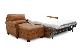Left Hand Facing Storage Chaise Sofa Bed Outback