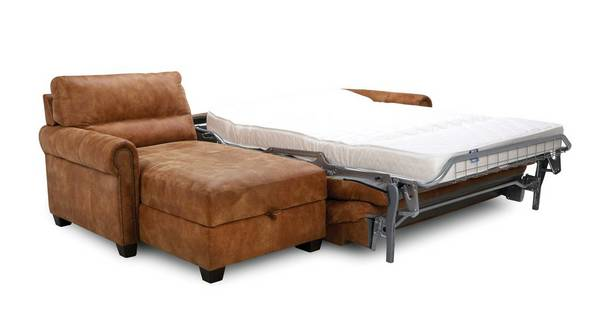 Ramsey Left Hand Facing Storage Chaise Sofa Bed