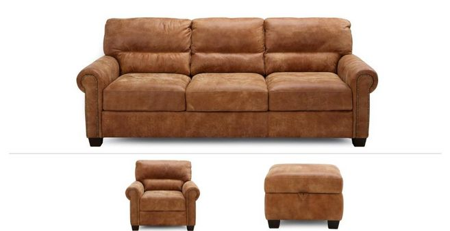 Ramsey Clearance 3 Seater Sofa Chair Stool Outback Dfs