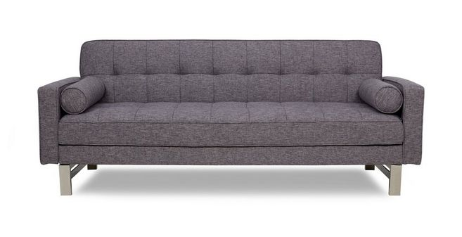 rare sofabed dfs rh dfs co uk grey sofa bed with storage grey sofa beds ebay