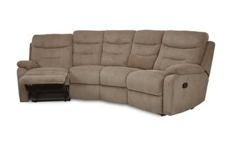 4 Seater Curved Manual Recliner React