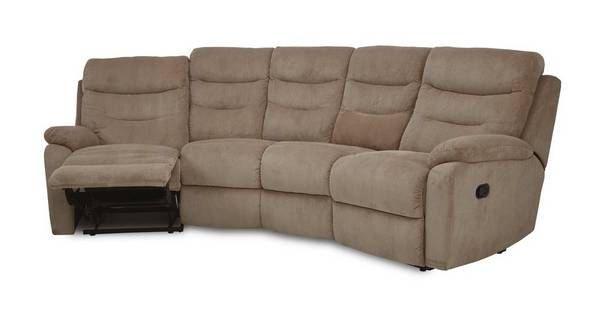 React 4 Seater Curved Manual Recliner