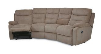 React 4 Seater Curved Electric Recliner