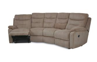 4 Seater Curved Electric Recliner React