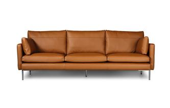 Grote bank Norway Leather Look Fabric