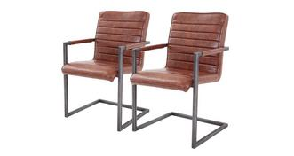 Reeve Set of 2 Cantilever Chairs
