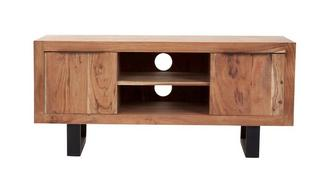 Reeve TV Unit 2 Doors 2 Shelves