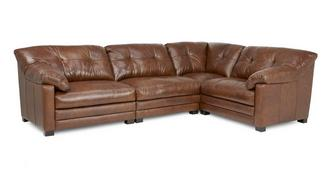 Relax Left Hand Facing 4 Piece Corner Sofa