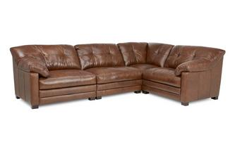 Left Hand Facing 4 Piece Corner Sofa Milan