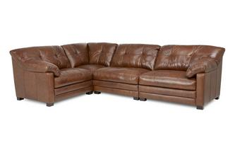Right Hand Facing 4 Piece Corner Sofa Milan