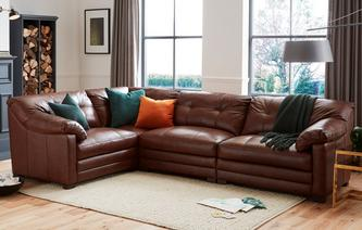 Relax Right Hand Facing 4 Piece Corner Sofa Milan