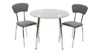 Relish Bistro tafel en reeks van 2 stoelen