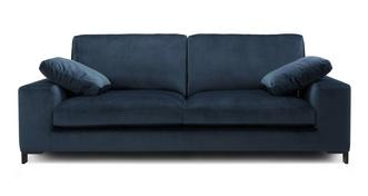 Remedy Velvet 4 Seater Sofa