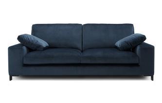 Velvet 4 Seater Sofa Sensual Velvet