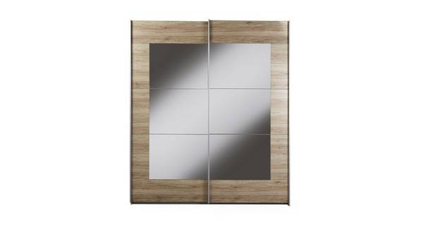 Reno Small Mirrored Sliding Robe