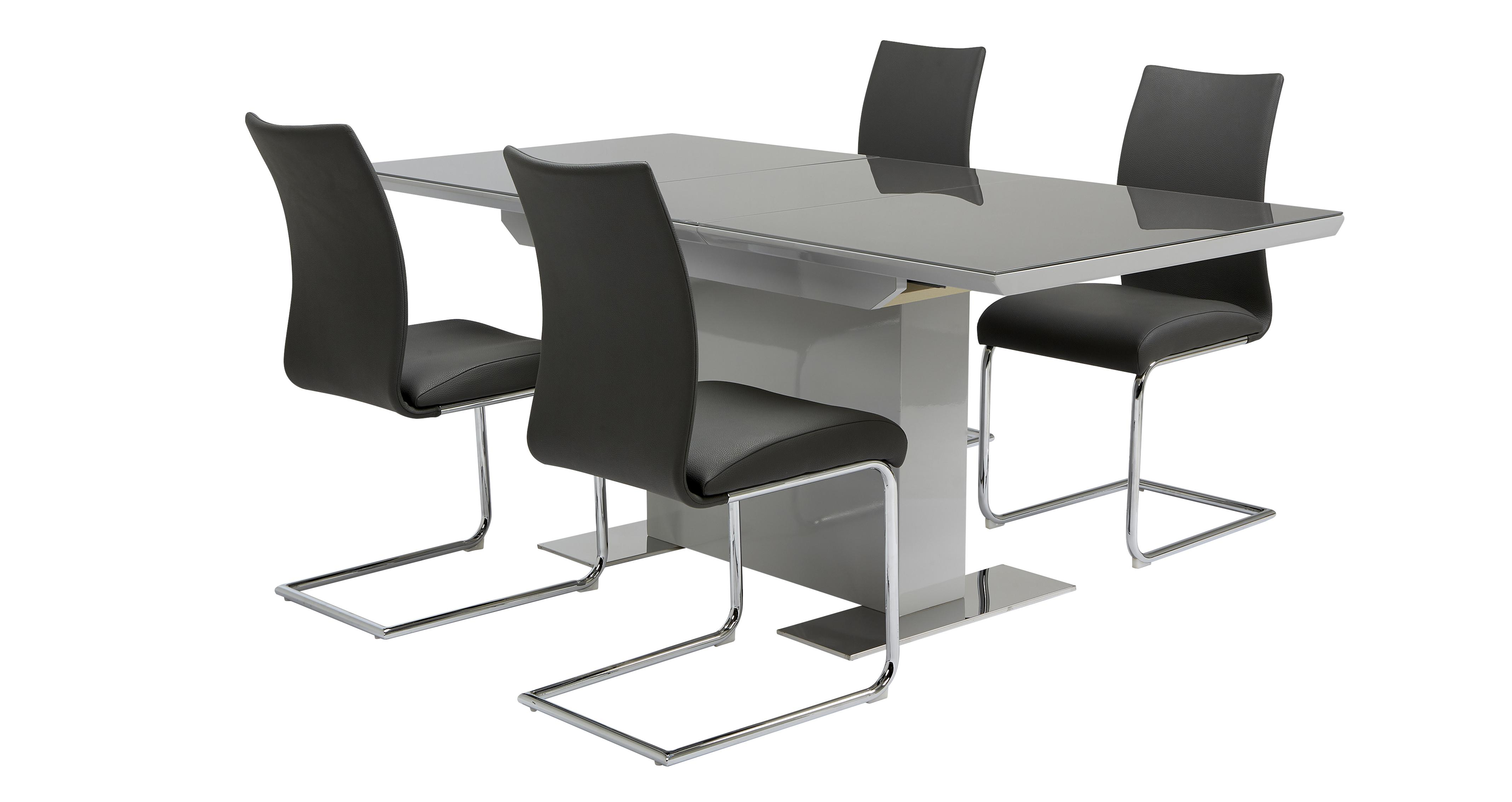 Replay Extending Dining Table & 4 Chairs | DFS Ireland