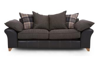 3 Seater Pillow Back Sofa Reuben
