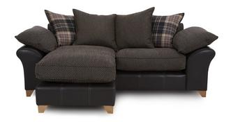 Reuben 3 Seater Pillow Back Lounger