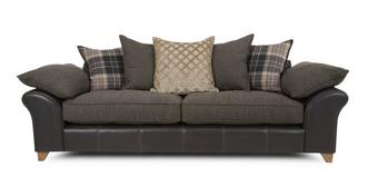 Reuben 4 Seater Pillow Back Sofa