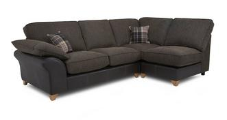 Reuben Left Arm Facing Open End Formal Back Corner Sofa