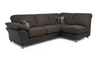 Left Arm Facing Open End Formal Back Corner Sofa