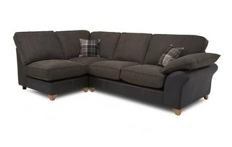 Right Arm Facing Open End Formal Back Corner Sofa Reuben