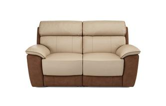 Reva 2 Seater Electric Recliner Bacio Vellutato