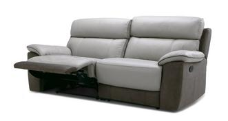 Reva 3 Seater Manual Recliner