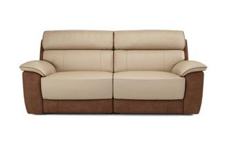 Reva 3 Seater Electric Recliner Bacio Vellutato