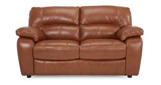 Reward Leather 2 Seater Sofa