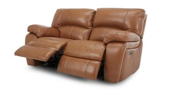 Reward Leather and Leather Look 2 Seater Electric Recliner