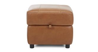 Reward Leather Storage Footstool