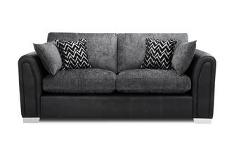 Formal  Back 3 Seater Supreme Sofa Bed
