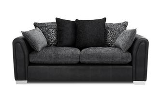 Pillow Back 3 Seater Supreme Sofa Bed