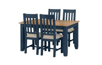 Medium Extending Table & 4 Chairs Rhone