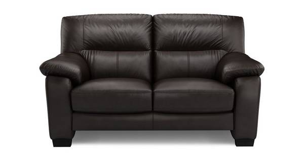 Rhythm Leather and Leather Look 2 Seater Sofa