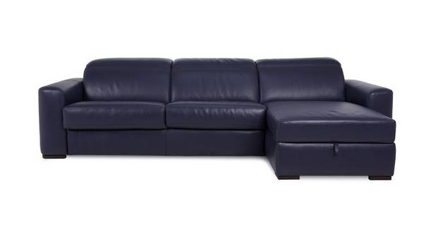 Rienzo Right Hand Facing 3 Seater Storage Chaise Sofa