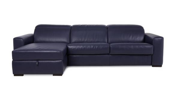 Rienzo Left Hand Facing 3 Seater Storage Chaise Sofa