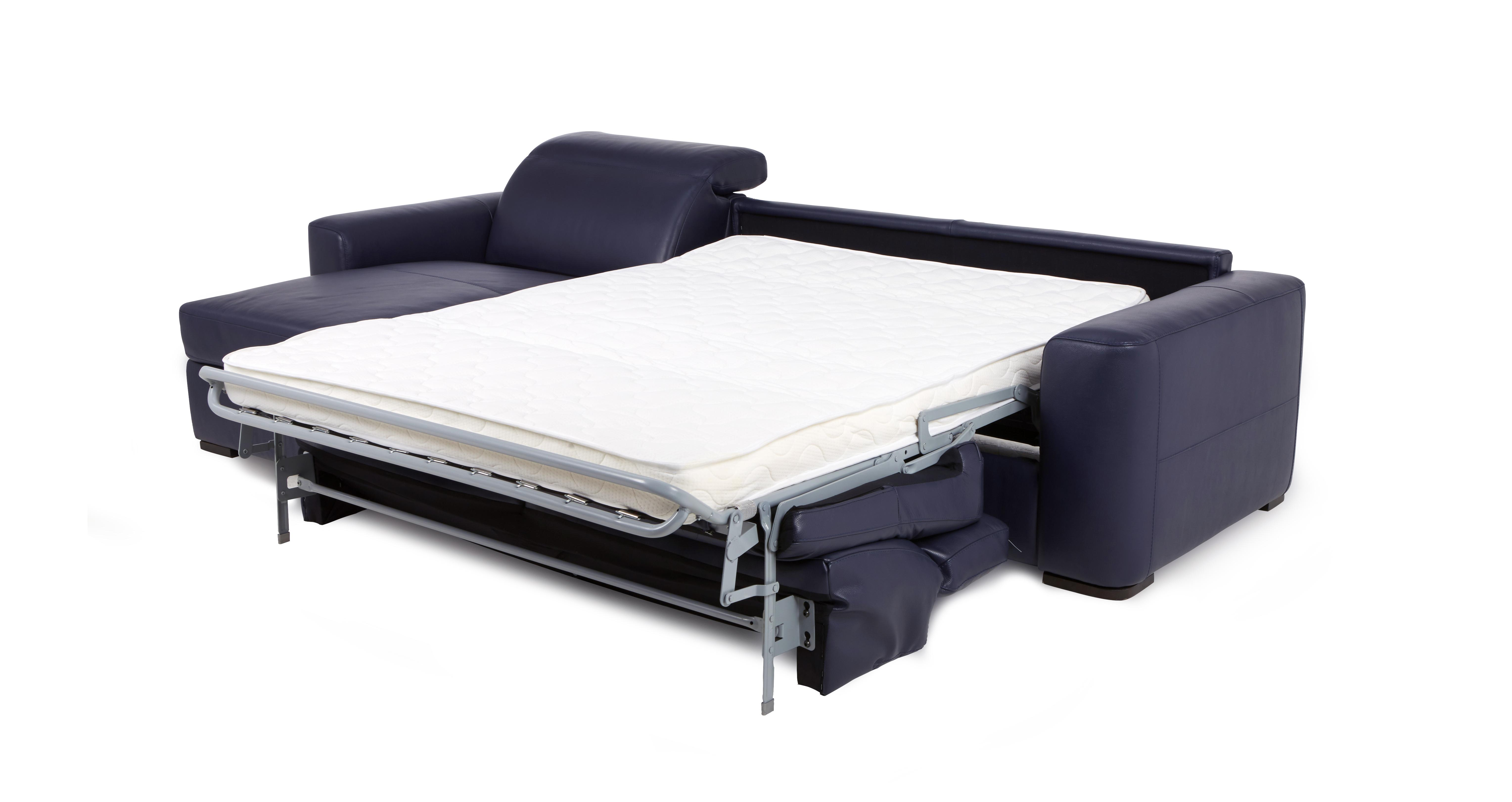 Rienzo left hand facing 3 seater storage chaise sofa bed for 3 seater sofa bed with chaise