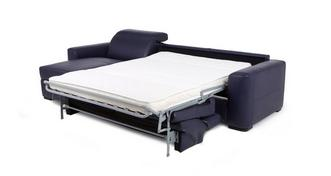 Rienzo Left Hand Facing 3 Seater Storage Chaise Sofa Bed