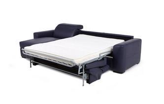 3-zits slaapbank met linkszijdig chaise longue met opbergruimte New Club