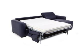 3-zits slaapbank met chaise longue rechts en opbergruimte New Club