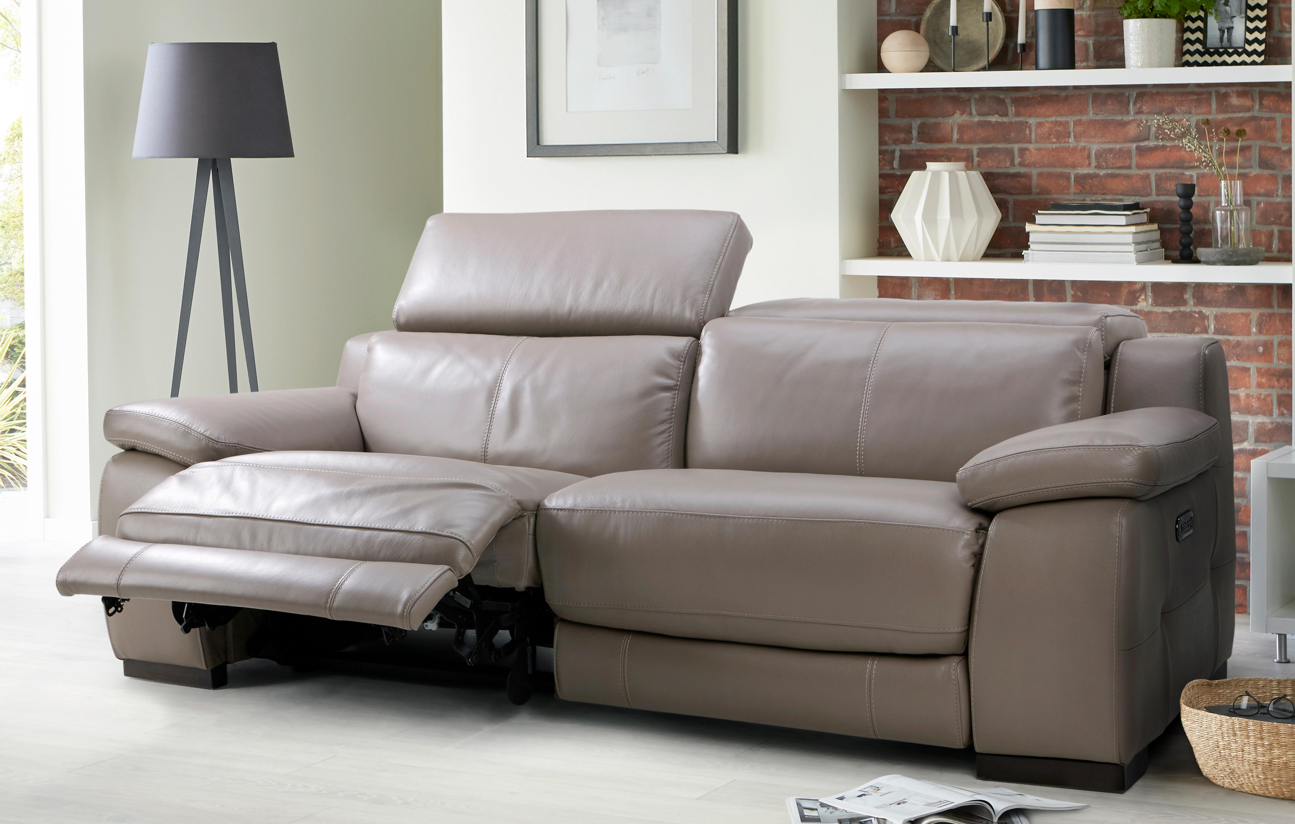 Leather Recliner Sofas In Classic Modern Styles DFS