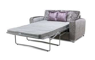 Ritzy 2 Seater Formal Back Deluxe Sofa Bed Krystal